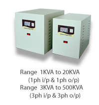 servo controlled voltage stabilizer manufacturers in bangalore